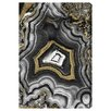 Oliver Gal Adore Geo Graphic Art on Wrapped Canvas