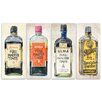 Oliver Gal Oliver Gal India Inks 4 Piece Graphic Art on Wrapped Canvas Set