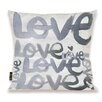 Oliver Gal Oliver Gal Home Four Letter Word Throw Pillow