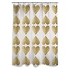 Oliver Gal Oliver Gal Home Love Game Shower Curtain