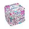 Oliver Gal Oliver Gal Home Colorful Happy Cube Ottoman
