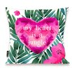 Oliver Gal Home Jungle Heart Throw Pillow