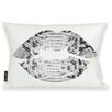 Oliver Gal Oliver Gal Home Solid Kiss Lumbar Pillow