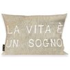 Oliver Gal Oliver Gal Home Life is but a Dream Lumbar Pillow
