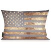 Oliver Gal Oliver Gal Home Rocky Freedom Lumbar Pillow