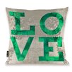 Oliver Gal Oliver Gal Home Build on Love Fresh Throw Pillow