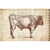"Oliver Gal ""Bull"" by Canyon Gallery Graphic Art on Wrapped Canvas"