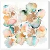 "Oliver Gal ""Rose Gold Garden"" by Artana Painting Print on Wrapped Canvas"