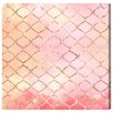 "Oliver Gal ""Make Me Blush"" by Artana Graphic Art on Wrapped Canvas"