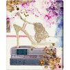 Oliver Gal Oliver Gal Gold Shoe Graphic Art on Wrapped Canvas
