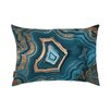 Oliver Gal Dreaming About You Geode Lumbar Pillow