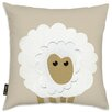Oliver Gal Easel Sheep Throw Pillow