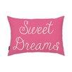 Oliver Gal Easel Sweet Dreams Lumbar Pillow