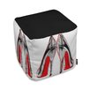 Oliver Gal Fire In Your New Shoes Ottoman