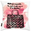 Oliver Gal Nothing Is Impossible Throw Pillow