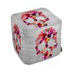Oliver Gal Bed of Roses Ottoman