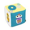 Oliver Gal Easel Robots Everywhere Ottoman