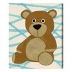 "Oliver Gal ""Bear"" by Olivia""s Easel Graphic Art on Wrapped Canvas"