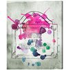 "Oliver Gal ""Bright Sign"" by Runway Avenue Painting Print on Wrapped Canvas"