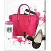 Oliver Gal Oliver Gal Bags, Shoes, and Coffee Painting Print on Wrapped Canvas