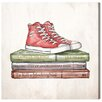 "Oliver Gal ""Chuck Taylors"" by Olivia""s Easel Painting Print on Wrapped Canvas"