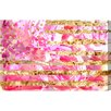 Oliver Gal Oliver Gal My America Pink Graphic Art on Wrapped Canvas