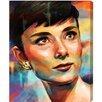 "Oliver Gal ""My Fair Lady"" by Runway Avenue Painting Print on Wrapped Canvas"