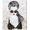 "Oliver Gal ""Work it Girl"" by Runway Avenue Painting Print on Wrapped Canvas"