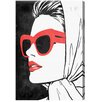 Oliver Gal Retro Glam II Graphic Art on Wrapped Canvas