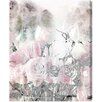"Oliver Gal ""Romance Lace and Roses"" by Runway Avenue Graphic Art on Wrapped Canvas"