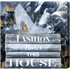 Oliver Gal Oliver Gal Fashion Rules Graphic Art on Wrapped Canvas