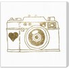 """Oliver Gal """"Camera"""" by Runway Avenue Graphic Art on Wrapped Canvas"""