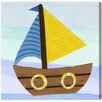 "Oliver Gal ""Boat"" by Olivia's Easel Graphic Art on Wrapped Canvas"