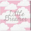 """Oliver Gal """"Dreamer"""" by Olivia""""s Easel Graphic Art on Wrapped Canvas"""