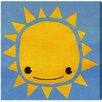 """Oliver Gal """"Sun"""" by Olivia""""s Easel Graphic Art on Wrapped Canvas"""