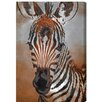 "Oliver Gal ""Zebra Colt"" by Canyon Gallery Graphic Art on Wrapped Canvas"