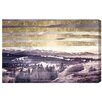 "Oliver Gal Canyon Gallery ""Golden Sandman"" Graphic Art on Wrapped Canvas"
