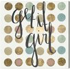 "Oliver Gal ""Get It Girl"" by Runway Avenue Graphic Art on Wrapped Canvas"