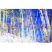 "Oliver Gal ""Vail Trees"" by Canyon Gallery Painting Print on Wrapped Canvas"