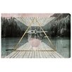 "Oliver Gal ""Lets Go To Camp"" by Canyon Gallery Graphic Art on Wrapped Canvas"
