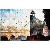 "Oliver Gal ""Jakarta Flying High"" by Canyon Gallery Painting Print on Wrapped Canvas"