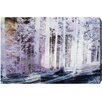 "Oliver Gal ""White Forest"" by Canyon Gallery Graphic Art on Wrapped Canvas"