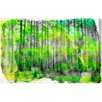 """Oliver Gal """"Alluring Birch"""" by Canyon Gallery Painting Print on Wrapped Canvas"""