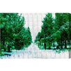"""Oliver Gal """"Mammoth Lake Road"""" by Canyon Gallery Graphic Art on Wrapped Canvas"""