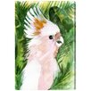 "Oliver Gal ""Tropical Cockatoo"" by Artana Painting Print on Wrapped Canvas"