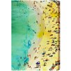 """Oliver Gal Canyon Gallery """"Italian Summer"""" Painting Print on Wrapped Canvas"""