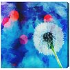 """Oliver Gal """"Rocio Dandelion"""" by Canyon Gallery Graphic Art on Wrapped Canvas"""