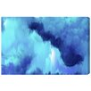 """Oliver Gal """"Vivanti Blue"""" by Artana Painting Print on Wrapped Canvas"""