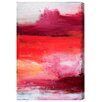 """Oliver Gal """"Desert"""" by Artana Painting Print on Wrapped Canvas"""
