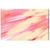 "Oliver Gal ""Strawberry Vanilla"" by Artana Painting Print on Wrapped Canvas"